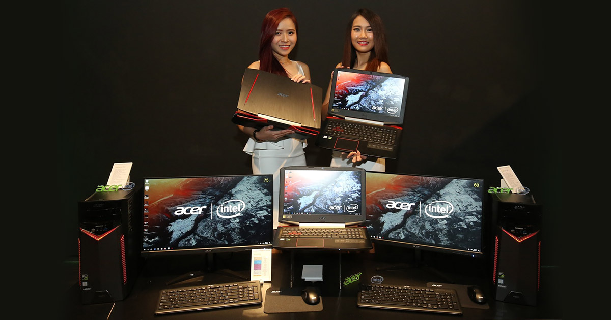 Acer Malaysia Serlahkan Potensi Sebenar Peminat Permainan Video Menerusi Rangkaian Peranti Baharu