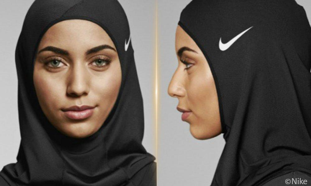 Nike cipta tudung khas atlet muslimah